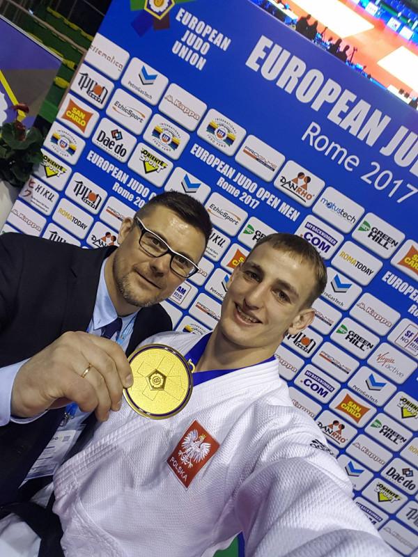 Piotr Kuczera wywalczył złoto w Rzymie