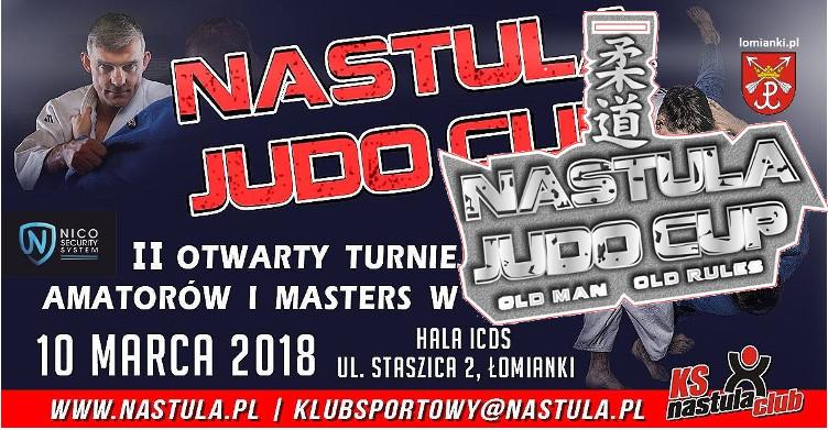II Otwarty Turniej Amatorów i Masters Nastula Judo Cup