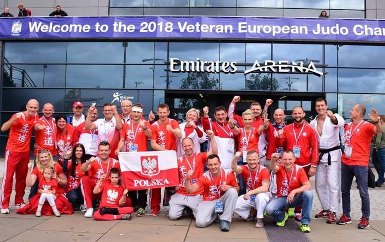 Polacy na Veteran European Judo Championships w Glasgow