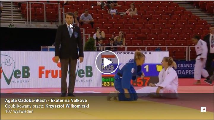 Brązowy medal Agaty Ozdoby-Błach w Budapeszcie