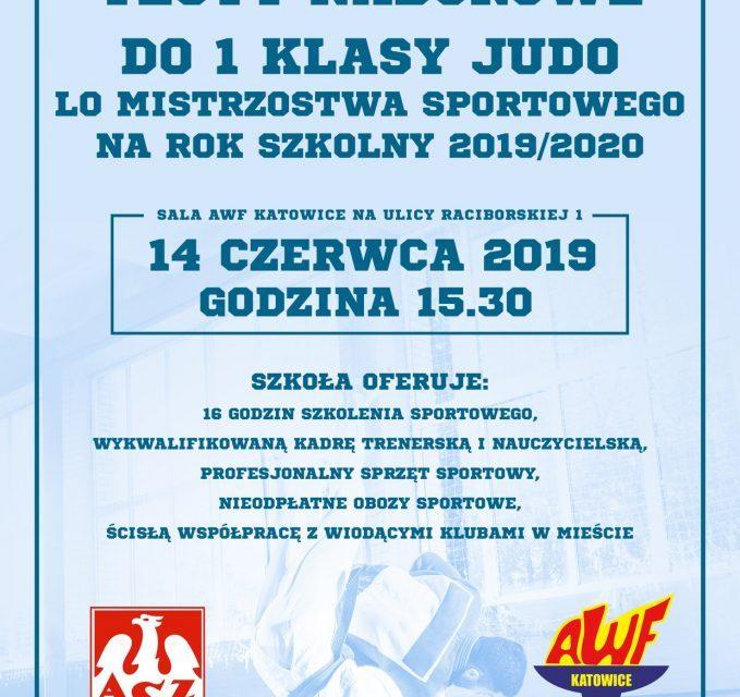 Nabory do Szkoły Mistrzostwa Sportowego w Katowicach