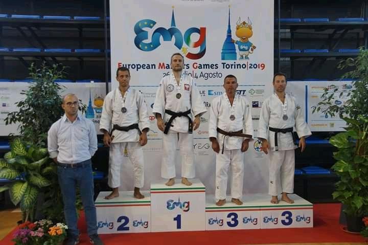 European Master Games w Turynie – złoto i srebro
