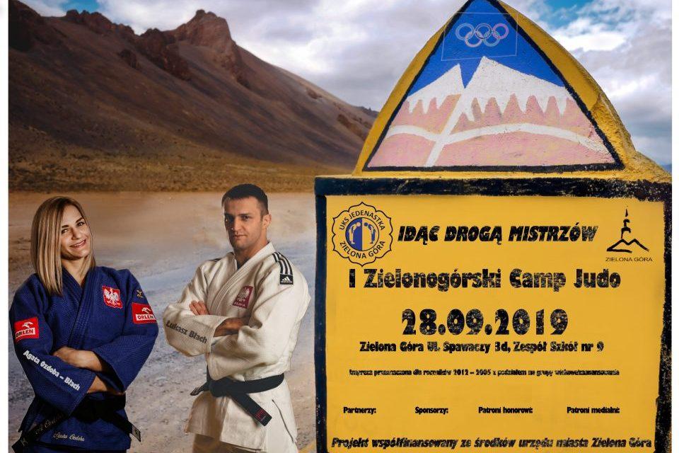 Idąc drogą mistrzów – Czyli judo Camp W Zielone Górze 28 września.